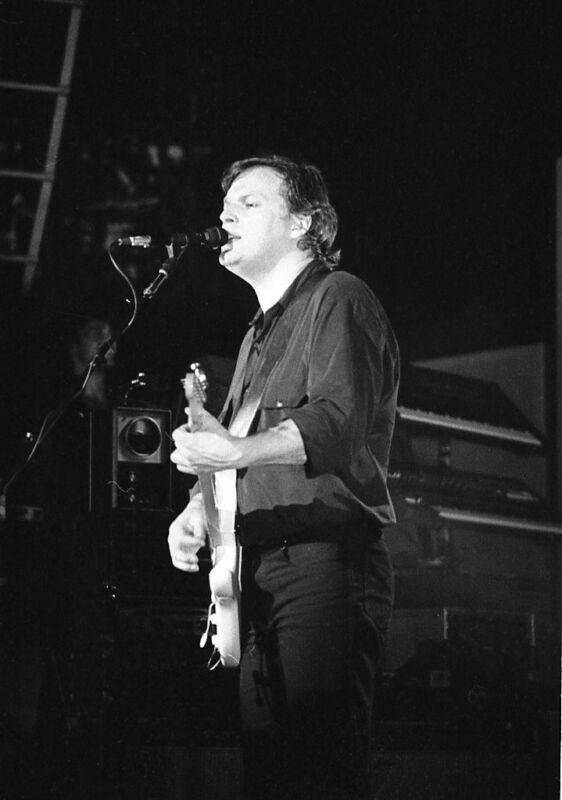 David Gilmour, 1-of-a-kind!   Never Printed!! Original 35mm b&w film
