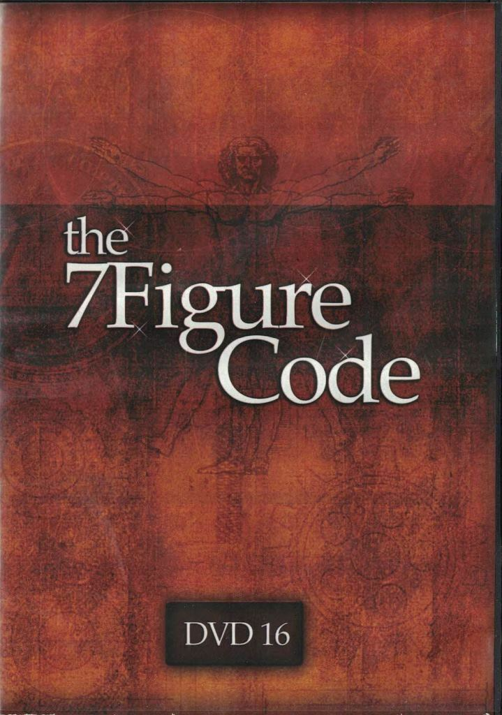 The 7 Figure Code Set Internet Marketing Expert Panel Action Plans DVD No 16 - $9.89