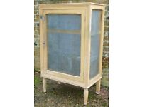 Vintage Kitchen Meat Safe or Pantry/Larder Cupboard with Original Paint