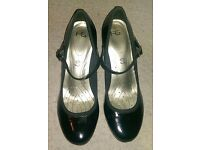 M&S Patent shoes