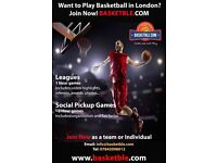 Want to Play Basketball in London? We are HERE for YOU... Come Out & Play