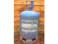 BUTANE 15KG EMPTY GAS BOTTLE £15 COLLECTION ONLY THIS IS THE SECOND BOTTLE I HAVE