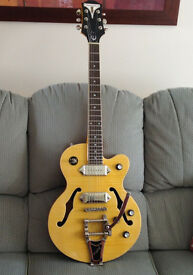 Epiphone Wildkat semi-hollow electric guitar Reduced for quick sale Probably the CHEAPEST ON GUMTREE