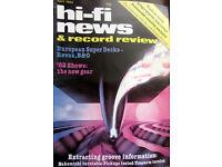 HI-FI 1982 REVOX B&O NAKAMICHI TURNTABLE ROGER T100 DYNAVECTOR