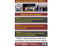 JUDO BIRTHDAY PARTY!