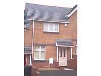 2 bedroom terraced house to let Bradley Stoke Available October