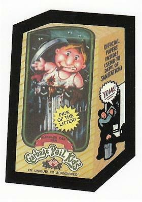 1ST GARBAGE PAIL KIDS GARBAGE CAN DAN MIDDLE FINGER VARIATION CARD REPRINT RARE
