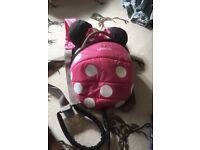 Minnie Mouse Little Life Rucksack & Reins