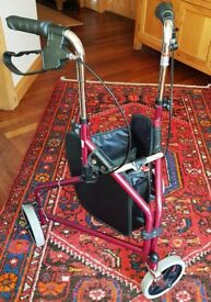 3 WHEELED MOBILITY WALKER IN GREAT CONDITION