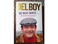 Hardcover Book - Del Boy 'He Who Dares.. Autobiography' - Excellent cond./Unread (Unwanted Gift)