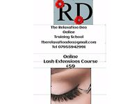 Online Lash Extension Course