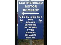 Tyre Fitter WANTED (Full time) Leatherhead Motor Company