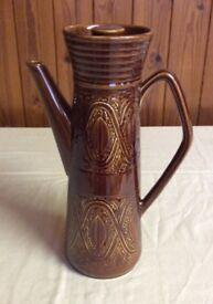 Retro Saxony Ellgreave England Coffee Pot