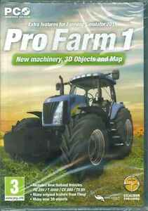 Pro Farm 1, Farming Simulator 2011 Add-on Expansion Pack, PC Game, New