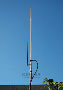 2 Meter VHF J-Pole Base Antenna Heavy Duty amateur ham radio scanner 144-148Mhz