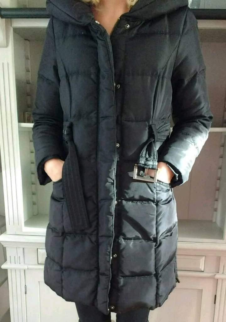 7dd2e0c1 Black Zara down coat size 12 | in Tonypandy, Rhondda Cynon Taf ...