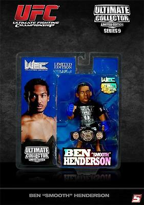 BEN HENDERSON (WEC W/BELT) UFC ROUND 5 SERIES 9 LIMITED EDITION FIGURE for sale  Independence