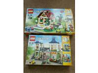 Lego Creator 3in1 Sets 31036 + 31038 Both 100% Complete