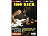 Lick Library Learn to Play Jeff Beck