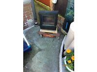 Nice woodburning stove- fire