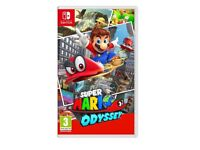 Brand new and sealed super Mario odyssey