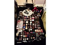 Makeup Artist Makeup Kit 130 items Hair Tools Nail Varnishes Sale Clearance