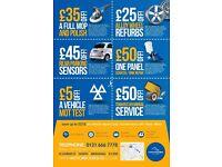 Special Offers - Car repair, Alloy wheel refurbishment, Mop & polish, MOT, Servicing, Dent/Scratches