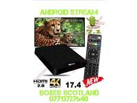 New 2018 4K UHD W95 Android box fully equipped 🔌 and ▶