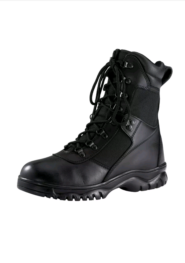 forced entry black 8 waterproof tactical boot