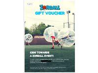 Zorball Zorb Football Experience Voucher