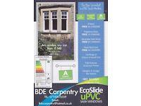 Sash Windows UPVC made to measure