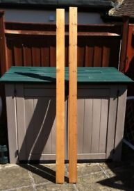 13 x pieces of planed white timber - the lot for £ 47 - bargain