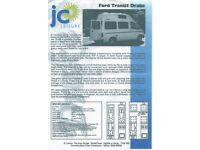 Ford, TRANSIT, Panel Van, 2000, Automatic, 2496 (cc) DRAKE Campervan