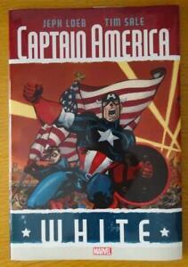 Marvel Captain America White hardcover