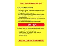 Sell your house for cash quickly (ST1,ST4,ST6 postcodes)