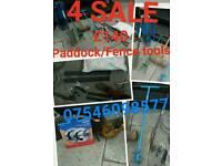 Paddock Fence Tools