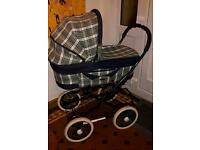 Vintage 2 in 1 Pram/Pushchair Emmaljunga Coronado ( Swedish)