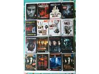 Various horror dvds used