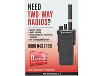 TWO-WAY RADIO SPECIALIST. CHEAP HIRE AVAILABLE