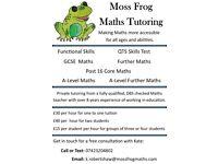 Moss Frog Maths Tutoring