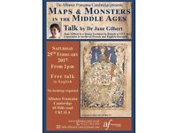Maps and Monsters in the Middle Ages – Talk by Dr Jane Gilbert