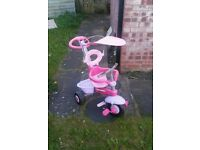 Girl's Tricycle in good condition