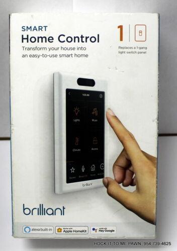 Brilliant Smart Home Control Hub Switch BHA120US-WH1 NEW