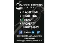 Magpie plastering Ltd