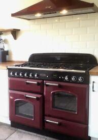 Rangemaster Classic 110 Gas Cooker and Hood