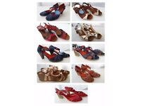BARGAIN! YOKONO LADY'S DESIGNER SHOE COLLECTION – NEW – All Natural Material