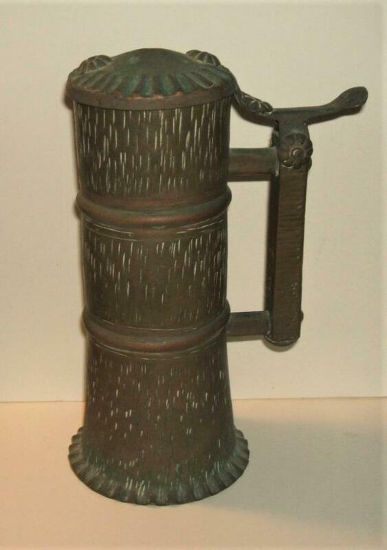 """WWI """"Trench Art"""" Beer Stein"""