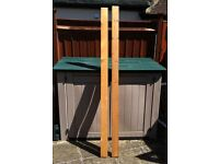 13 x pieces of planed white timber - bargain £ 50