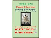 Super Man Painter and Decorator