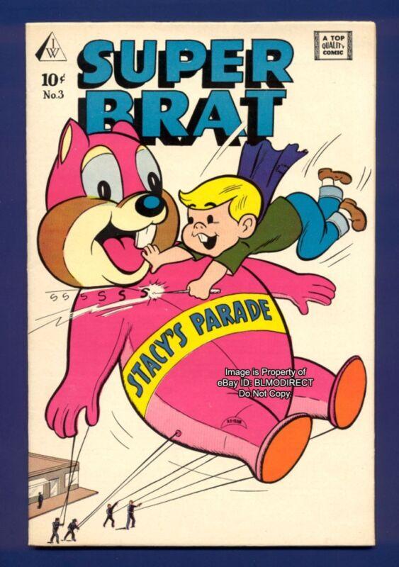 1958 Super Brat #3 VF+ IW Publishing Top Quality Comic
